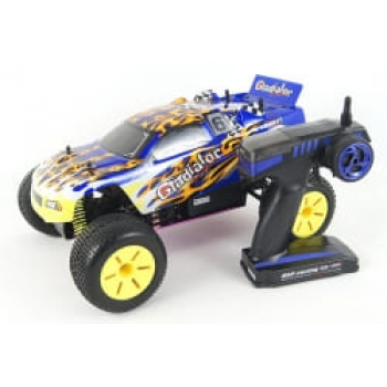 1/10th scale 4WD nitro powered truggy