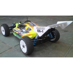 Caster Fusion 1/8 EP Buggy RTR without battery