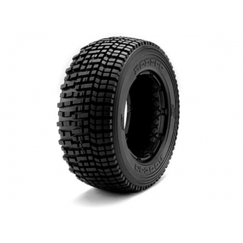 1:5, резина - M Compound, HB RODEOO TIRE (Blue/Baja 5T/Rear/2pcs)