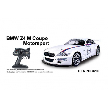 1/10 BMW Z4 M COUPE MOTOSPORT (White)