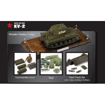 Soviet Red Army KV-2 1:24 (Green)