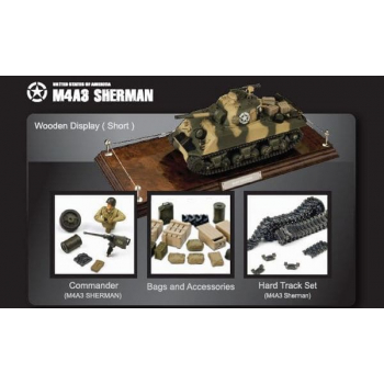 US M4 Sherman 1:24 (Green)